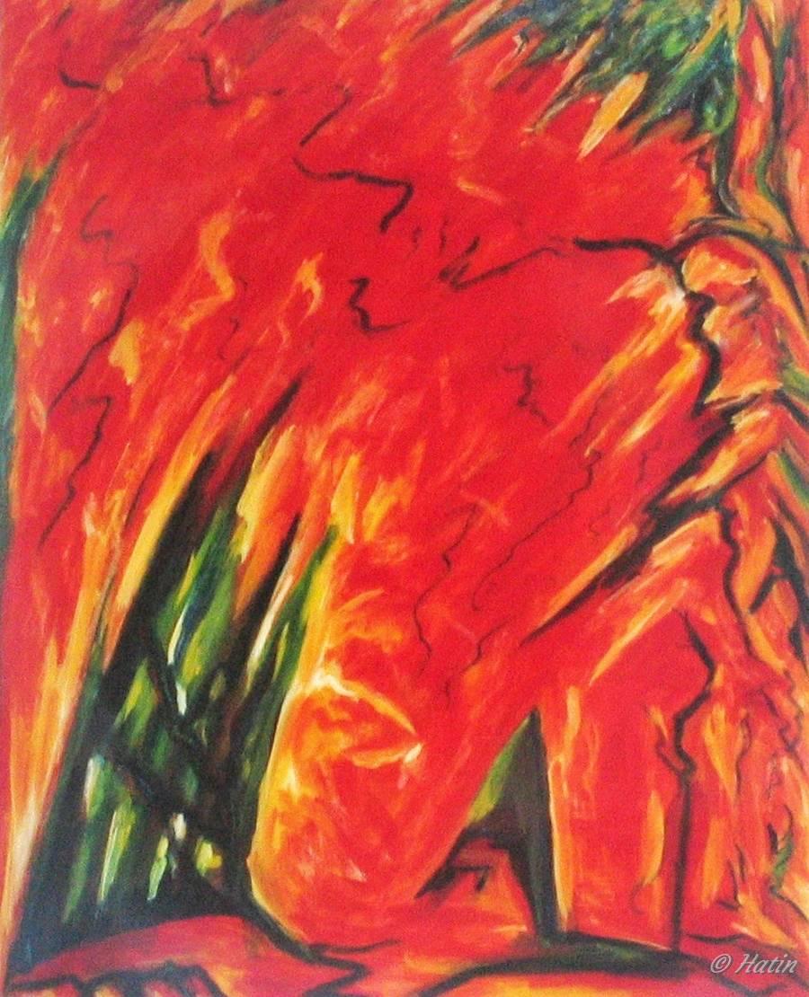 Huile sur toile 1998